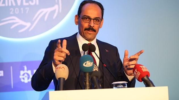"""Cumhurbaşkanlığı sözcüsü İbrahim Kalın, açık açık ifade etti """"yer yerinden oynar"""""""