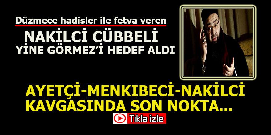 Cübbeli  Ahmet yine Mehmet Görmez'e yüklendi