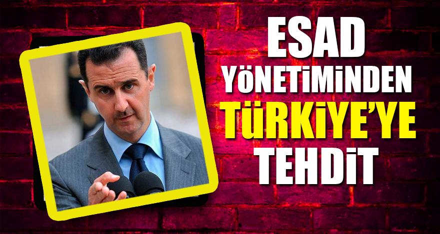 Esad yönetiminden Türkiye'ye tehdit