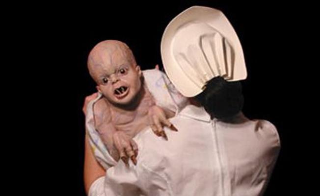 Gizlice doğurulan mutasyon bebekler
