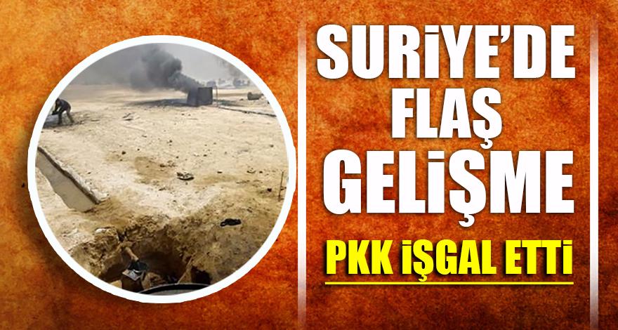 Suriye'de flaş gelişme: PKK işgal etti