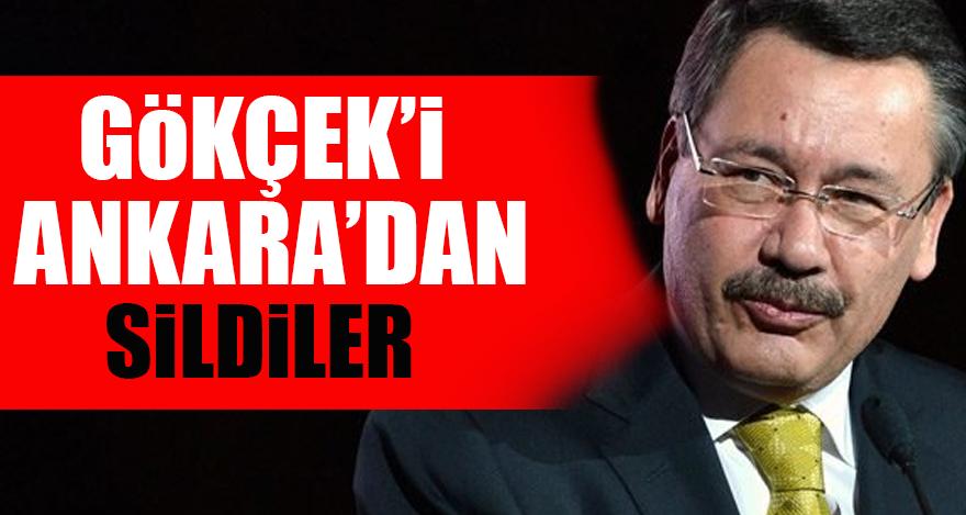 Gökçek'i Ankara'dan sildiler