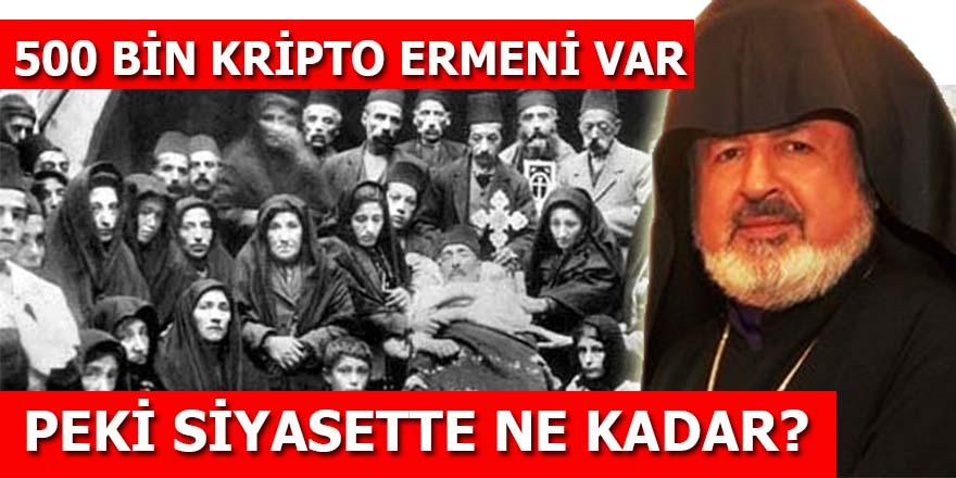 500 bin kripto Ermeni var: Peki siyasette ne kadar?