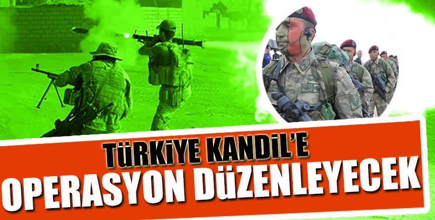 Türkiye Kandil'e operasyon düzenleyecek