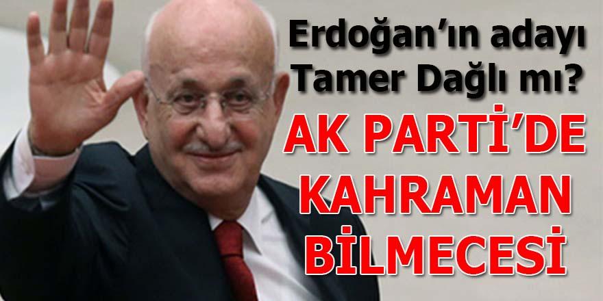 AK Parti'de Kahraman bilmecesi: Tamer Dağlı Erdoğan'ın adayı mı?