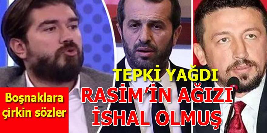 Boşnaklara çirkin sözler söyleyen Rasim Ozan Kütahyalı'ya tepki yağıyor!