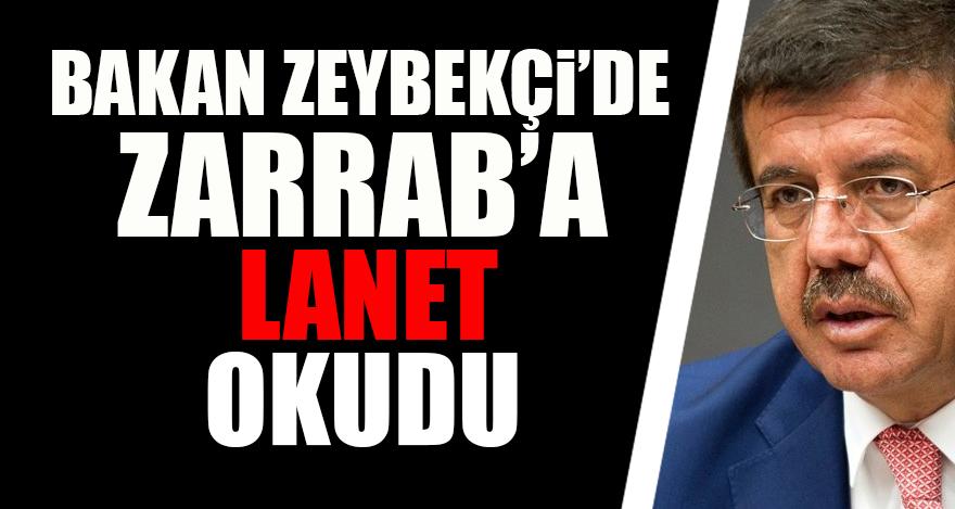 Bakan Zeybekçi'de Zarrab'a lanet okudu