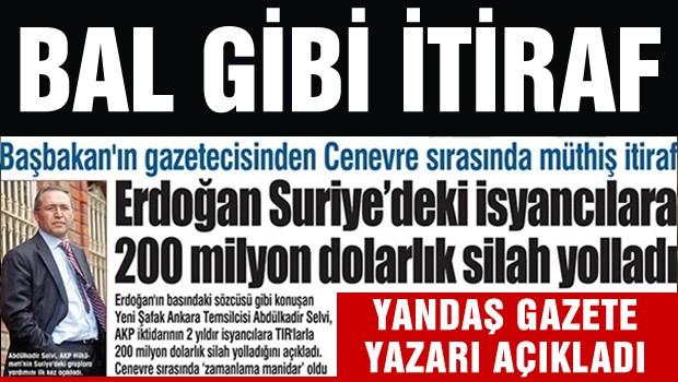 Türkiye'den Suriye'ye 200 milyar dolarlık silah