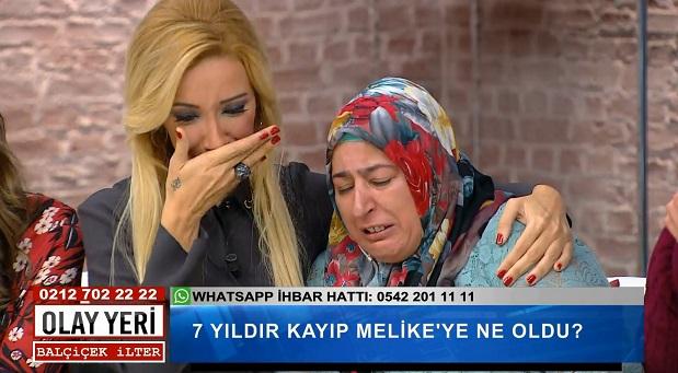 Balçiçek İlter'in gözyaşları