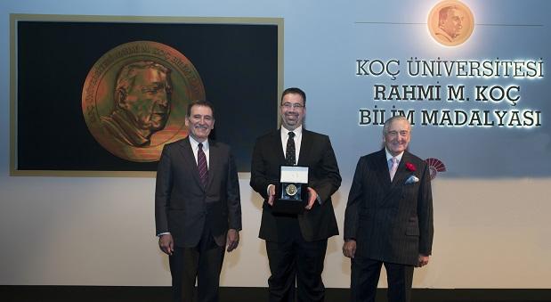 Rahmi Koç Bilim madalyası Daron Acemoğlu'na verildi