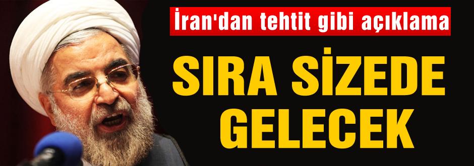 İran'dan tehdit gibi açıklama