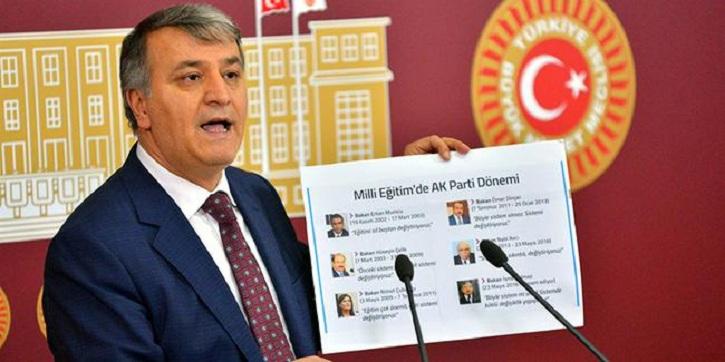 HDP'li vekilden Milli Eğitim Bakanı'na şok sözler