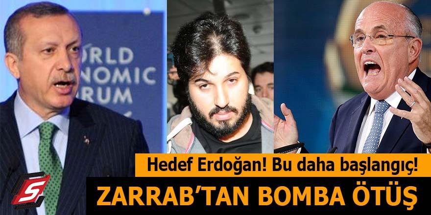Hedefte Erdoğan var: Zarrab'dan bomba ötüş!