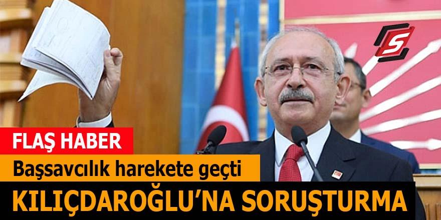 Başsavcılık'tan Kılıçdaroğlu'na soruşturma