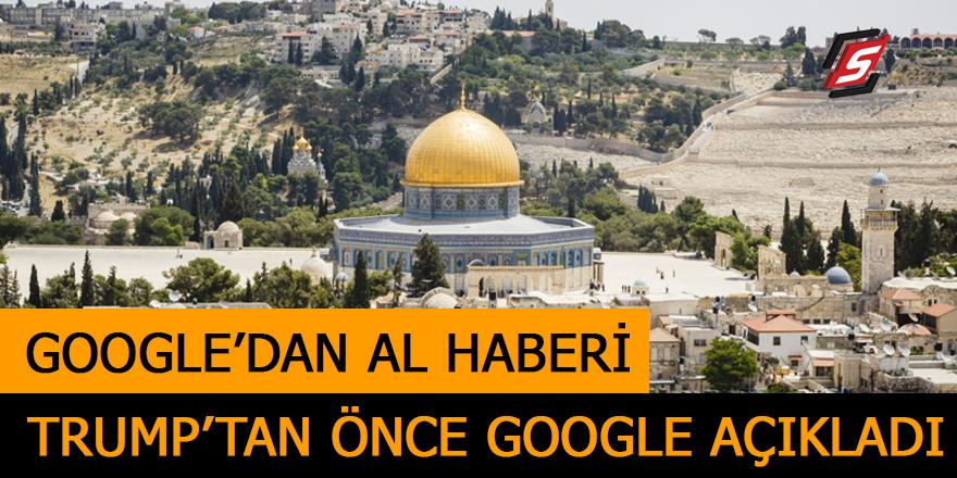Google Kudüs için karar verdi!