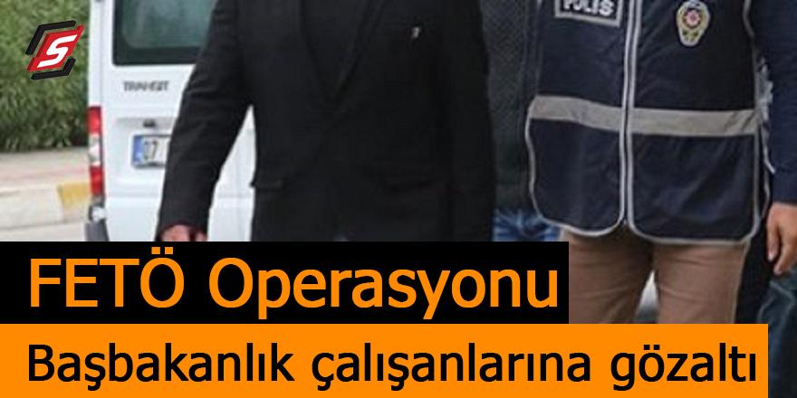 Ankara'da başbakanlık çalışanlarına gözaltı