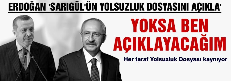 Erdoğan Sarıgül için CHP'ye süre verdi