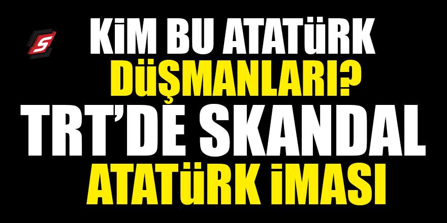 Devlet televizyonunda Atatürk'e skandal gönderme