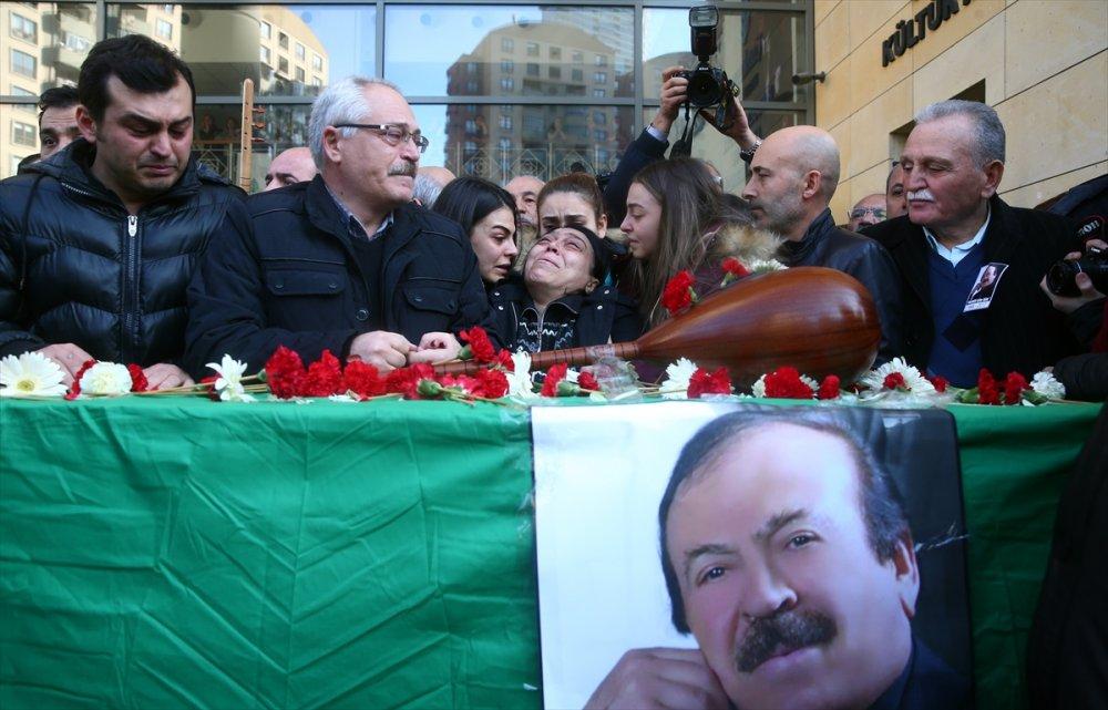 Ünlü Halk Ozanı Ali Kızıltuğ'a veda töreni