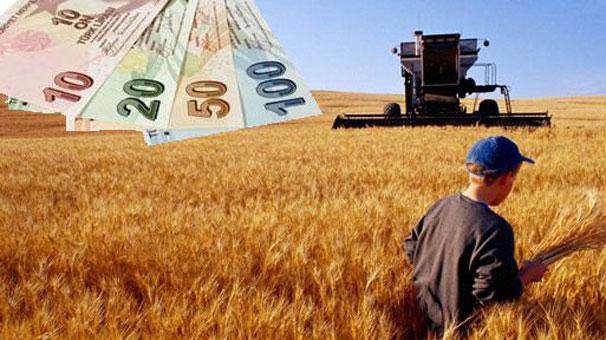 Çiftçiye 1.8 milyar lira dağıtılacak