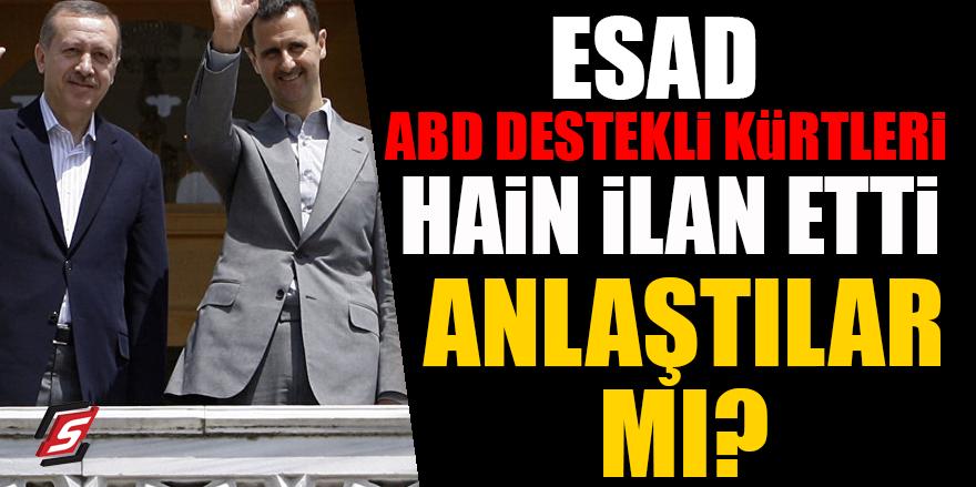 Esad ABD destekli Kürtleri hain ilan etti