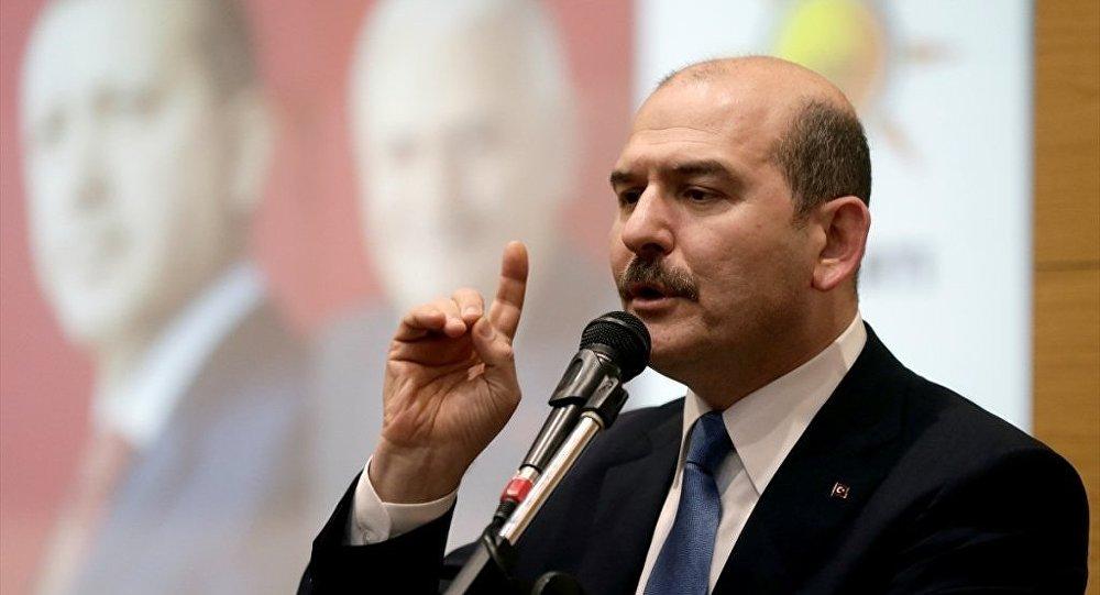 Süleyman Soylu CHP'li Özel'in yalanını belgeledi