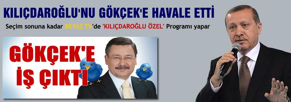 Kılıçdaroğlu'nu  Gökçek'e havale etti