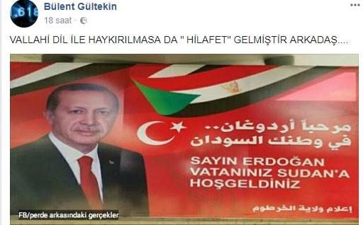 Pes artık! AKP'li Başkan Hilafet'in geldiğini müjdeledi