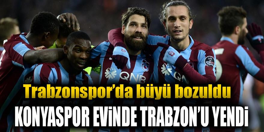 Konyaspor kupada Trabzonspor'u mağlup etti