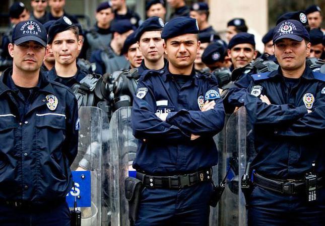 Başkentte 7 bin 340 polis görev başındaydı