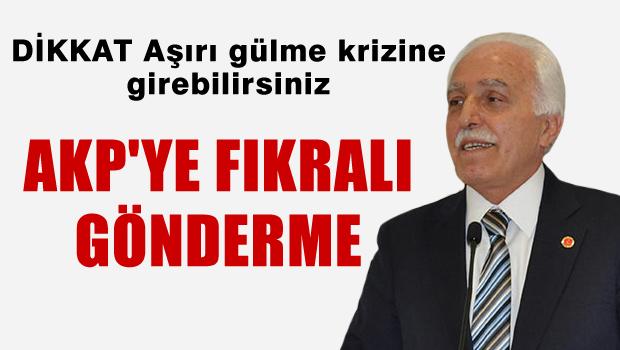 SP'den AKP'ye fıkralı gönderme