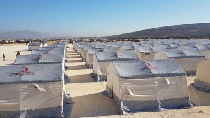İdlip'in kuzeyine gerçekleşen göç sürüyor