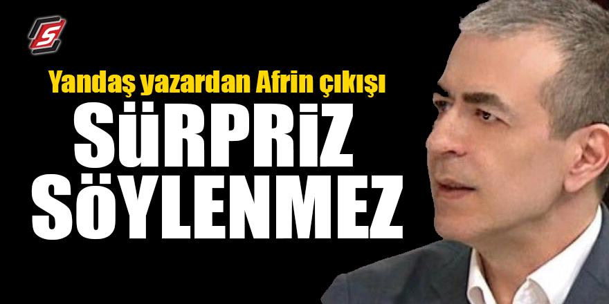 Yandaş yazardan Afrin çıkışı! Sürpriz söylenmez