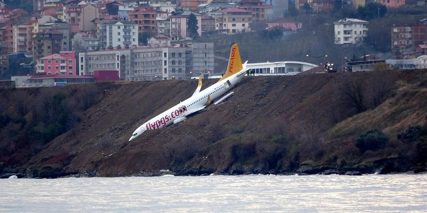 Pistten çıkan uçağın pilotu konuştu! Flaş açıklamalar
