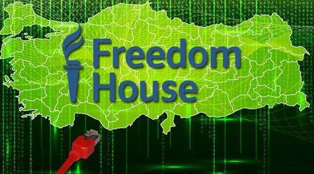Freedom House'dan flaş Türkiye raporu