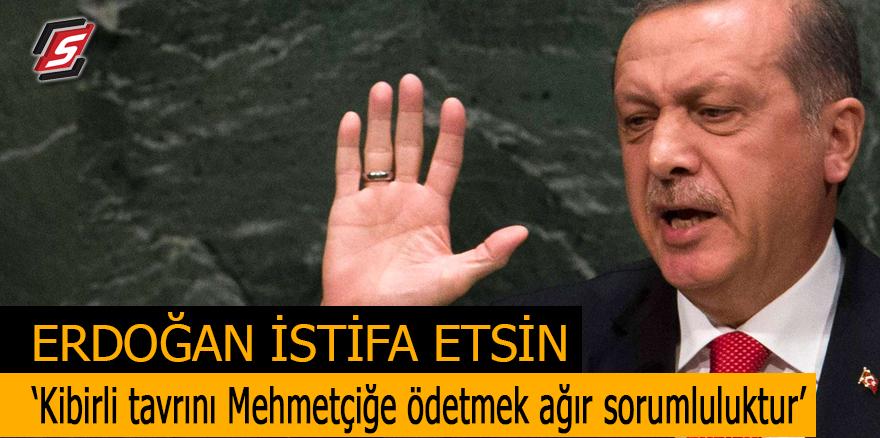 Erdoğan istifa etsin! 'Kibirli tavrını Mehmetçiğe ödetmek ağır sorumluluktur'
