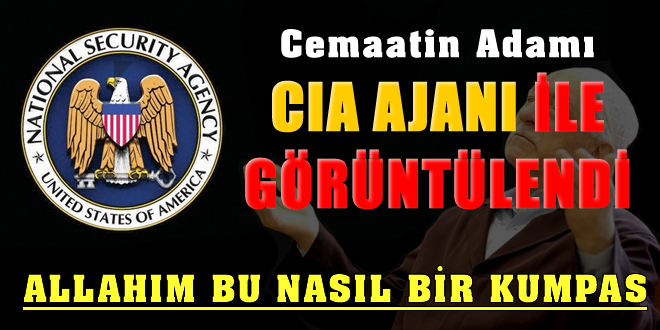CIA ajanıyla görüntülendi