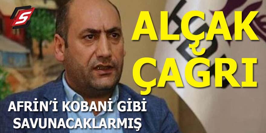 HDP'den alçak çağrı: Afrin'i Kobani gibi savunacaklarmış!