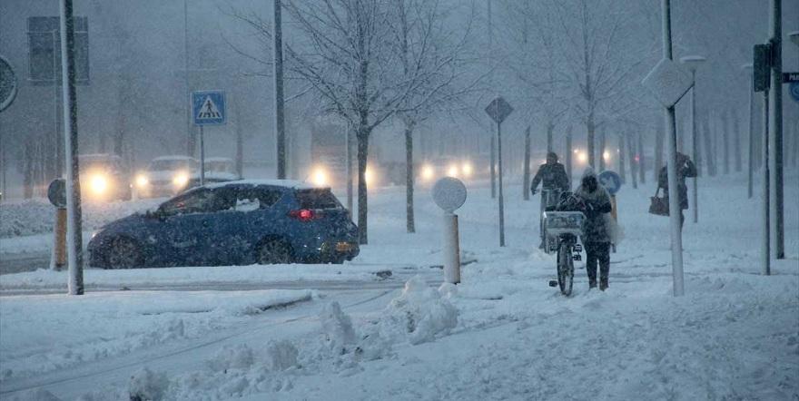 Meteorolojiden uyarı: Önce yağmur ardından kar