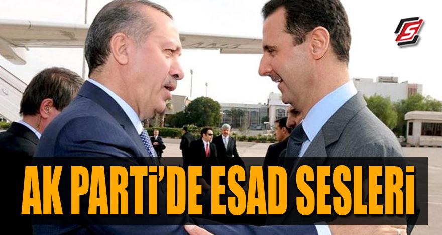 AK Parti'de Esad sesleri