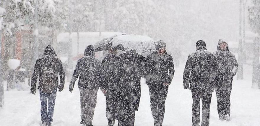 Meteoroloji'den vatandaşlara kar yağışı uyarısı