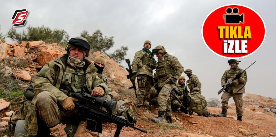İşte Afrin'i temizleyen Kahraman Mehmetçiğin uykusu! TIKLA-İZLE