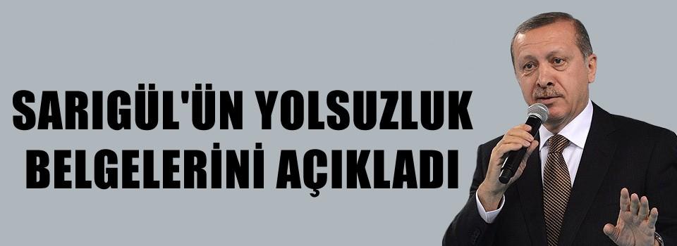 Erdoğan Sarıgül belgelerini açıkladı