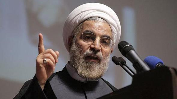 """Ruhani, ABD'yi """"iki yüzlülük"""" ile suçladı"""