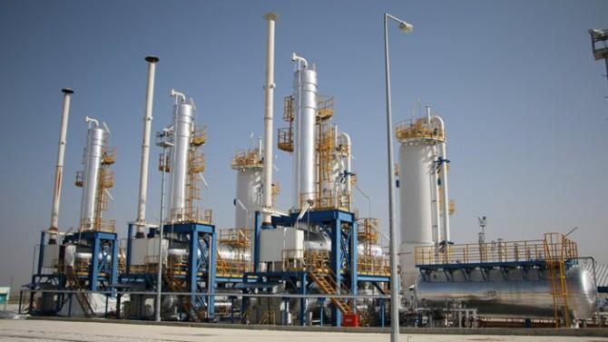 Bir yıllık doğalgaz ihtiyacının yarısı depolanıyor