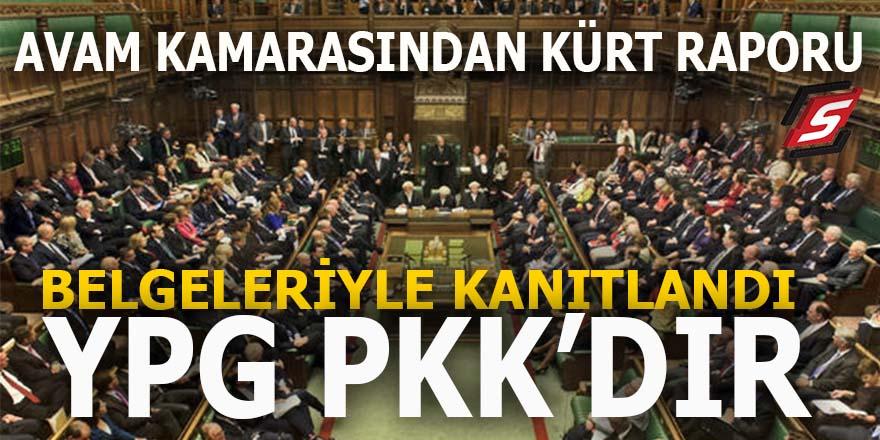 Avam Kamarası'ndan Kürt raporu: YPG PKK'dır!