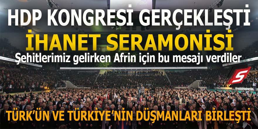 HDP Kongresi'nde ihanet seramonisi!