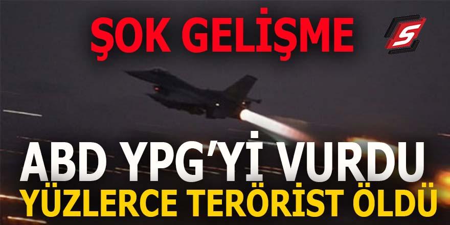ABD YPG'yi vurdu: Yüzlerce terörist öldü