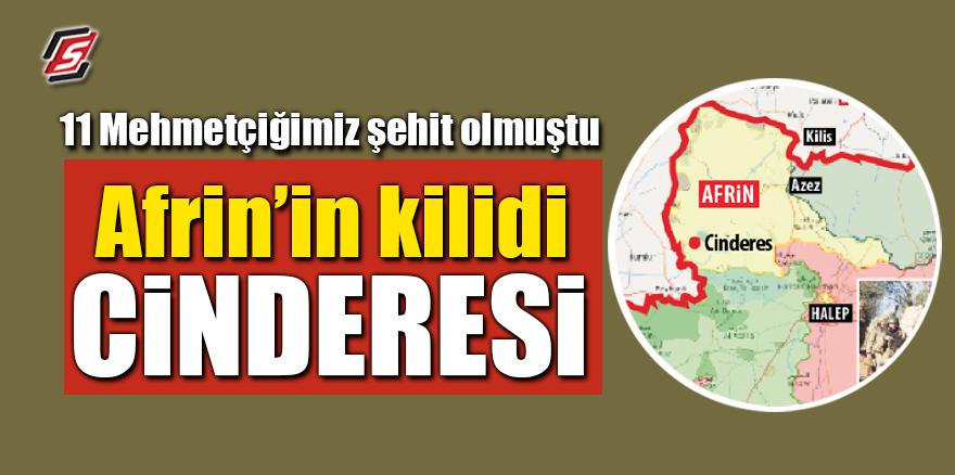 11 Mehmetçiğimiz şehit olmuştu! Afrin'in kilidi Cinderesi