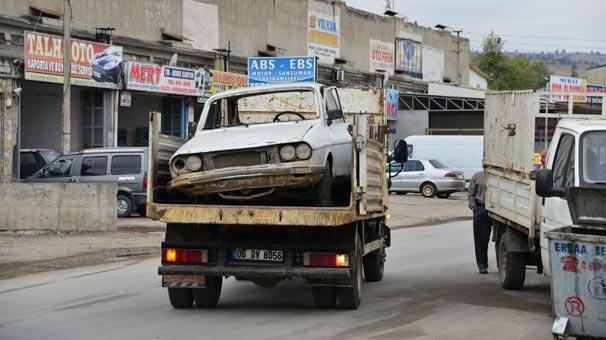Hurda araca piyango vurdu: Sakın satmayın